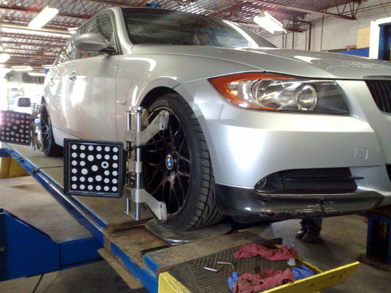 Services performed for mercedes benz bmw automobiles for Mercedes benz wheel alignment